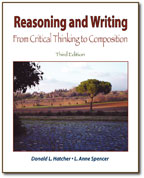 reasoning and writing Reason is the capacity for consciously making sense of things, establishing and verifying facts, applying logic, and changing or justifying practices, institutions.